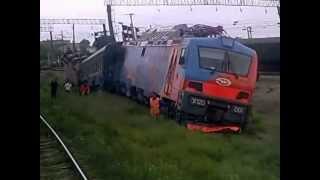 Крушение испытательного поезда ЭП20-001
