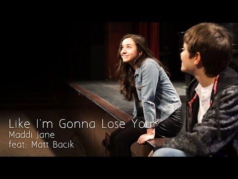 "Meghan Trainor  ""Like I'm Gonna Lose You"" Cover by Maddi Jane"