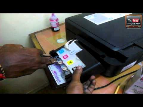 how to unclog epson ink cartridge