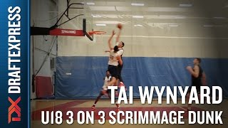 Kentucky Commit Tai Wynyard Colorado Springs Scrimmage Poster Dunk