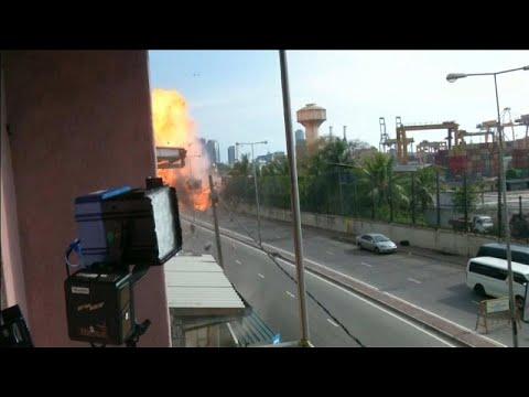 Νέα έκρηξη στη Σρι Λάνκα μια μέρα μετά το αιματοκύλισμα…