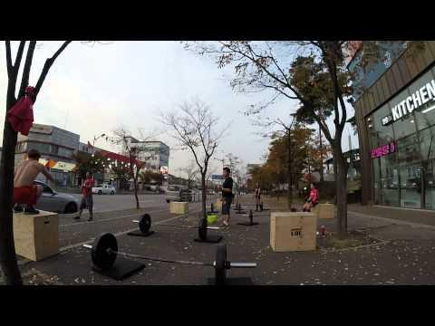 강릉크로스핏 삼척크로스핏 CrossFit LOL victor gym 141030 PM 4:00 SNATCH BJ OVER RUN victor coco 혜경 형덕 영무 2