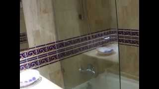 Family master suite at Bahia Principe Coba Mayan Riviera, essentially 2 rooms with an adjoining door. The video paused half way so there are 2 parts