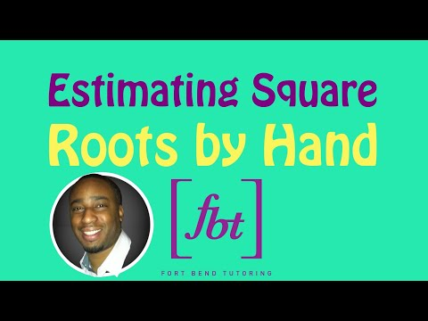 Estimating Square Roots to the Nearest Tenth by Hand [fbt]