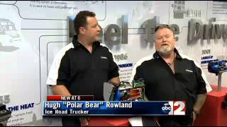 Fenton (MI) United States  city images : Ice Road Truckers stars visit Webasto in Fenton, Michigan.