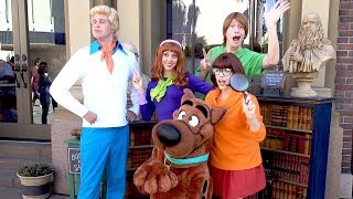 Scooby Doo, Fred, Shaggy, Daphne & Velma (Frankenstein Cameo) Meet & Greet at Universal Hollywood