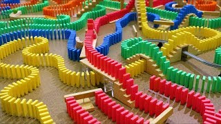 30 Minutes of DOMINOES FALLING! - Most Satisfying ASMR Compilation