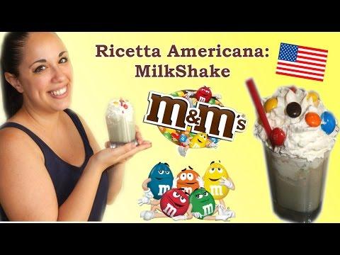 milkshake m&m's - ricetta