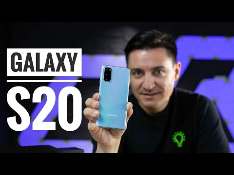 SAMSUNG GALAXY S20 - UNBOXING & REVIEW