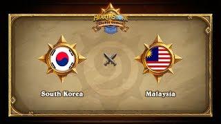 KOR vs MYS, game 1