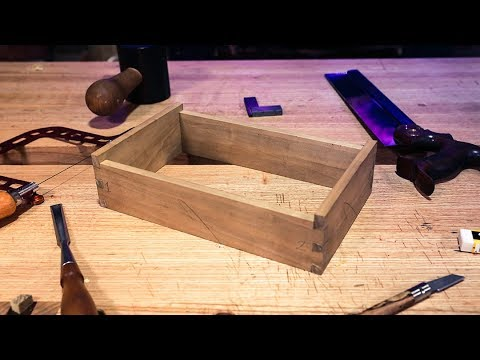 How to Glue a Dovetailed Box | Dovetail Box Project #7 | Free Online Woodworking School