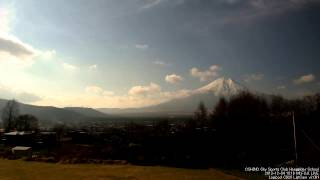 2013-12-04 富士山ライブカメラ_Time Lapse 12fps