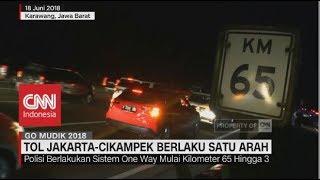 Video Tol Jakarta-Cikampek Berlaku Satu Arah, Tol Cipali Buka 15 Gerbang | Arus Balik MP3, 3GP, MP4, WEBM, AVI, FLV Juni 2018