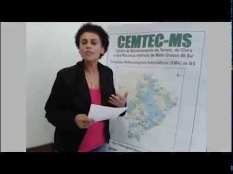Meteorologista Cátia Braga fala da umidade relativa do ar em Mato Grosso do Sul