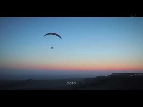 Видео о полетах на парапланах в Актау
