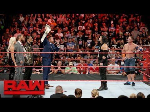 The Miz sounds off on John Cena and Roman Reigns: Raw, Aug. 21, 2017