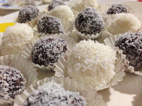 palline di cocco e ricotta! un dessert goloso!