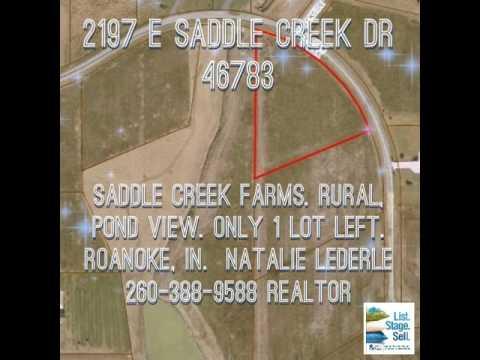 2197 E Saddle Creek Drive, Roanoke, IN 46783