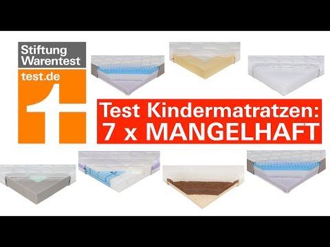Test Kindermatratzen: Diese 7 sind mangelhaft & können für Babys gefährlich werden