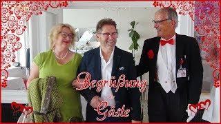 """Hochzeits-Butler """"Bernhardt"""" - Begrüßung der Gäste"""