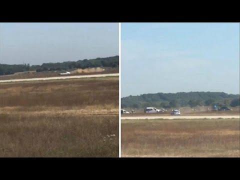 Καταδίωξη αυτοκινήτου στην πίστα του αεροδρομίου της Λυών (+video)…