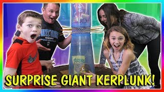 Video GIANT KERPLUNK THE FUN WAY! | We Are The Davises MP3, 3GP, MP4, WEBM, AVI, FLV Maret 2019