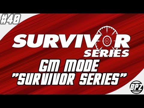 "Smackdown vs RAW 2007 GM Mode: #40 ""Survivor Series"""
