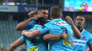 Waratahs v Stormers Rd.2 2018 Super Rugby Video Highlights