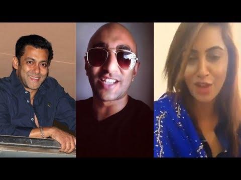 Shilpa shinde, Akash Dadlani & Arshi Khan Congrats