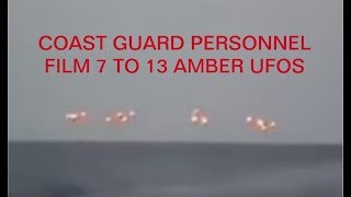 Download Lagu BREAKING NEWS - COAST GUARD PERSONNEL FILM 7 TO 13 UFOS OVER OPEN WATER IN 2017 Mp3