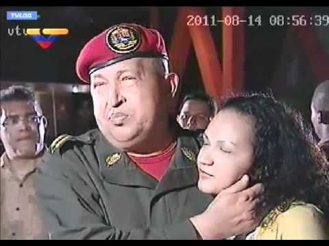 LLEGADA DEL PRESIDENTE HUGO CHÁVEZ A VENEZUELA.mp4
