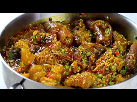 HOW TO MAKE OKRA SOUP - NIGERIAN OKRO SOUP | UPDATED NIGERIAN OKRA SOUP RECIPE