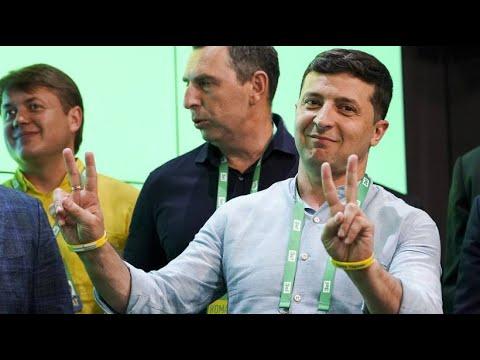 Ukraine: Selenskyjs »Diener des Volkes« bei der Wahl  ...
