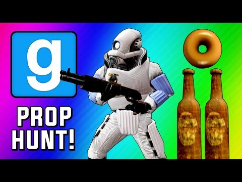 Gmod Prop Hunt Funny Moments – Epic Bottles, Seananners Spotted, Tricking Terroriser! (Garry's Mod)