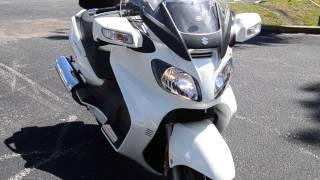 4. 2012 Suzuki Burgman 650 Executive - U100422