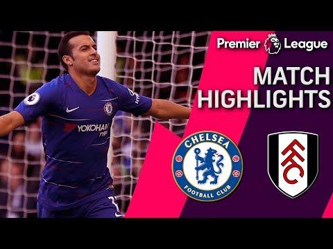 Video: Chelsea v. Fulham   PREMIER LEAGUE MATCH HIGHLIGHTS   12/02/18   NBC Sports
