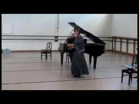 Mavis Becker Castanet Recital (Asturias)