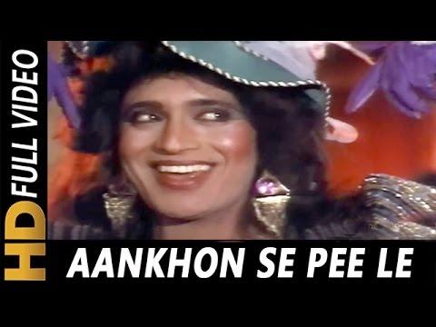 Video Aankhon Se Pee Le | Usha Uthup | Roti Ki Keemat 1990 Songs | Mithun Chakraborty, Kimi Katkar download in MP3, 3GP, MP4, WEBM, AVI, FLV January 2017