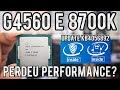 Benchmarks com Pentium G4560 e I7 8700k pós update KB4056892 do Windows 10 para Meltdown