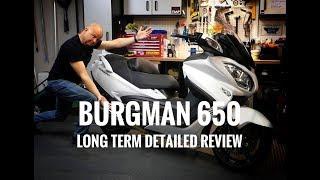 1. 2018 Suzuki Burgman 650 Executive - Long Term Review