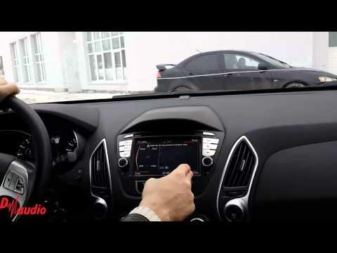 Штатное головное устройство Hyundai ix35 2010-2013