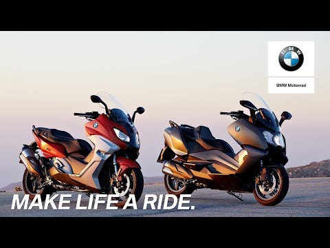 The new BMW C 650 Sport and the new BMW C 650 GT