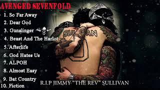 Video AvengedSevenfold  - The Best Song The Rev Full Album MP3, 3GP, MP4, WEBM, AVI, FLV Februari 2019