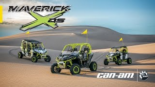 2. The All-New 121-HP Can-Am Maverick X ds