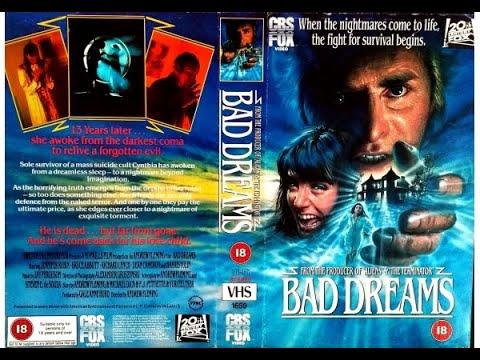 Original VHS Opening: Bad Dreams (1990 UK Rental Tape)