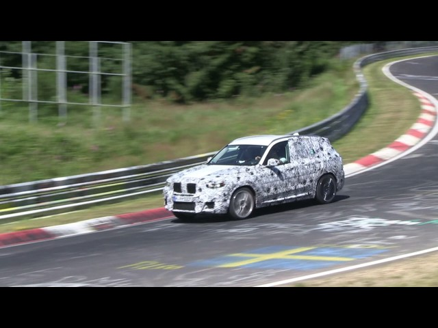 BMW X3 M MY 2018 - Video spia dicembre 2016