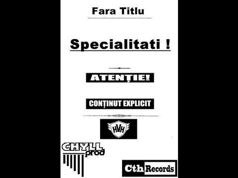 Fara Titlu - Specialitati RMX prod.STUDIO TIRAT - Specialitati - [CthRecords 2013]