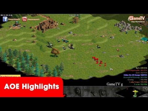 AOE Highlights | Gunny cầm Yamoto bật 4 trộm cân bản đồ 22