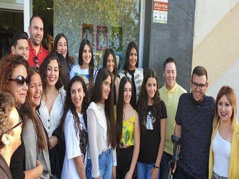 Escaparate Macarena Castro (Corte Juvenil Fiestas de Pozo del Camino 2019 )