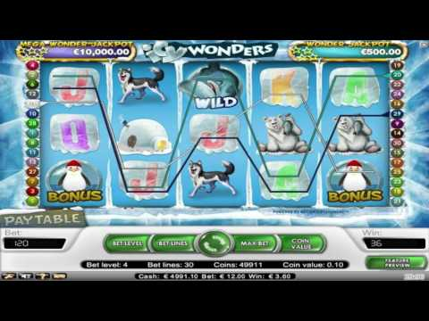 Free Icy Wonders Slot by NetEnt Video Preview | HEX